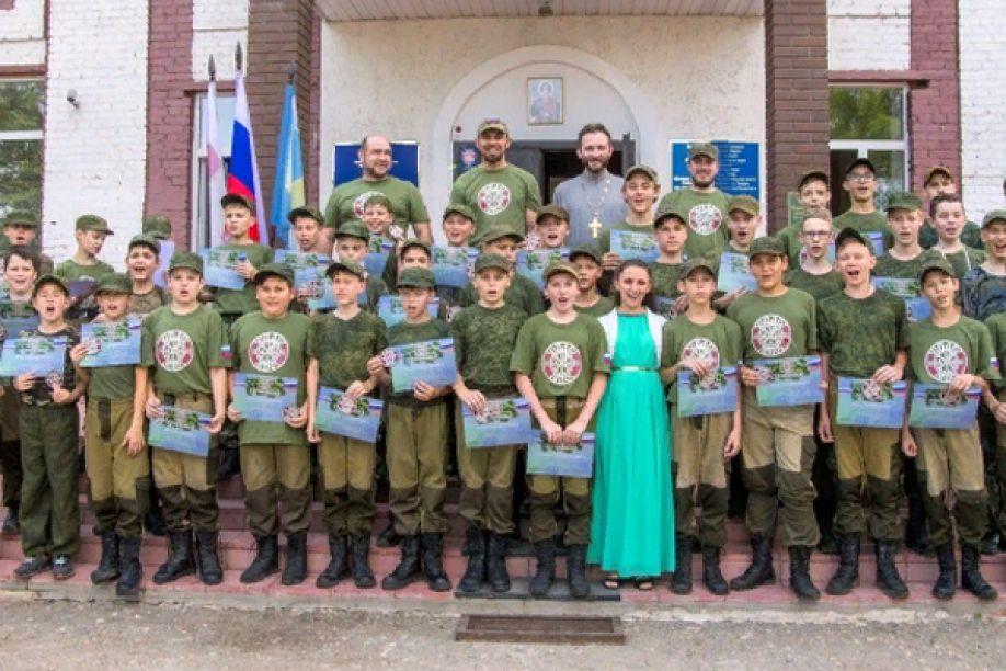 """Слёт военно-патриотического объединения """"Спас"""""""