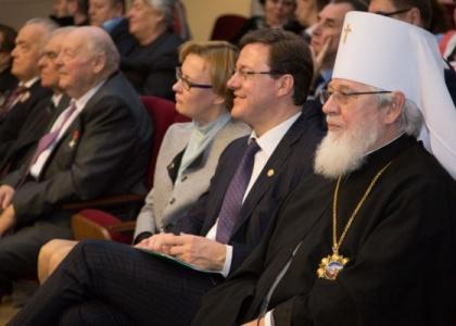 Рождественская встреча митрополита Сергия и ВРИО Губернатора Самарской области Дмитрия Азарова