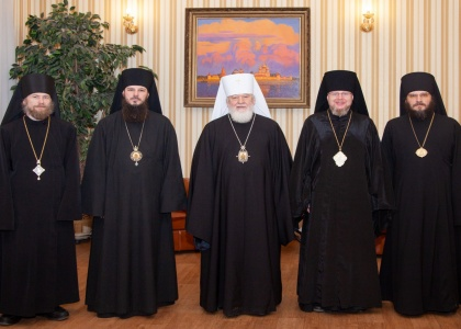 Подписание соглашения между Епархиями