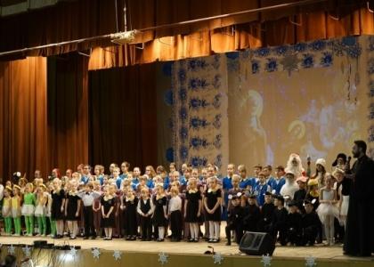 Рождественский концерт в Тольятти